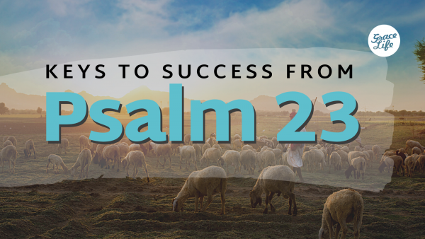 True Prosperity - Keys to success from Psalm 23, Part 1 Image